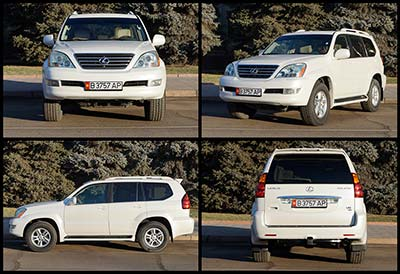 Rent a car Lexus GX470
